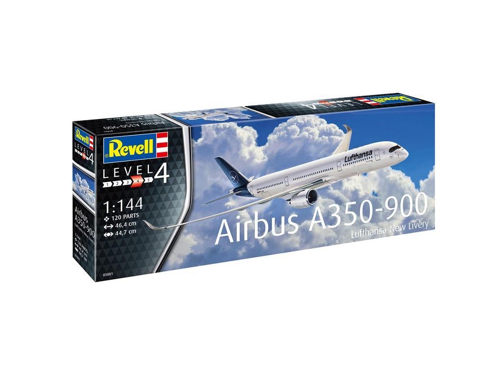 Revell maketa Airbus Lufthansa New Livery 03881