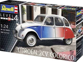 Revell maketa Citroën 2 CV Cocorico 07653