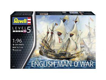 Revell maketa English Man O'War 05429