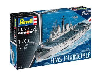 Revell maketa ladje HMS Invincible 05172