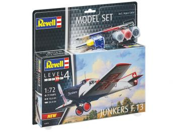 Revell model set Junkers f.13 63870