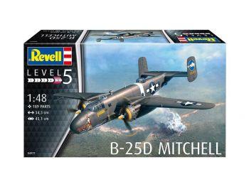 Revell vojaško letalo B-25D Mitchell 04977