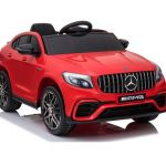 Avto na akumulator Mercedes AMG GLC63S – rdeč, enosed