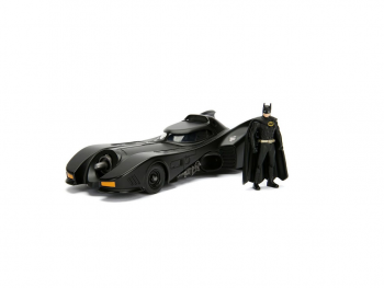 Kovinski model avtomobila Batman in Batmobil