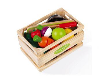 Lesena sadje in zelenjava Janod