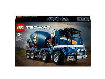 LEGO Tovornjak za mešanje betona 42112