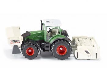 SIKU Traktor s priključki 3541