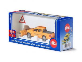 SIKU Volkswagen Amarok zimska služba 2546