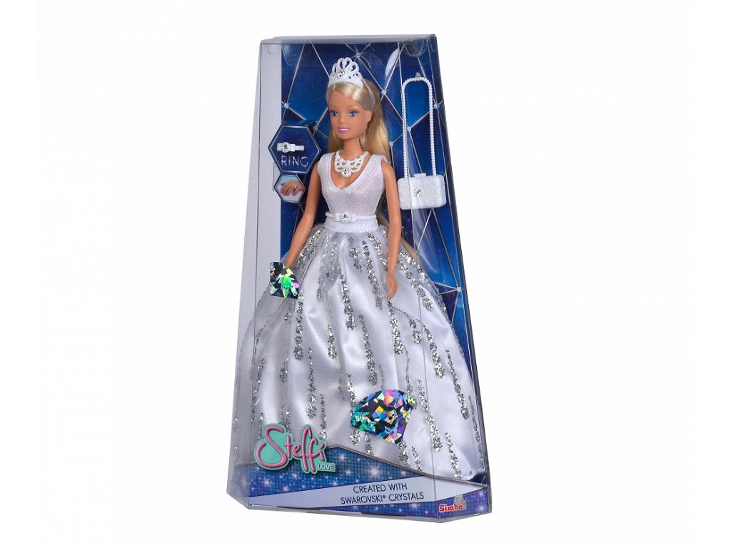 Steffi Love punčka s kristalno obleko in dodatki
