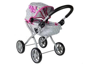 Igrača Otroški voziček Alice pink star