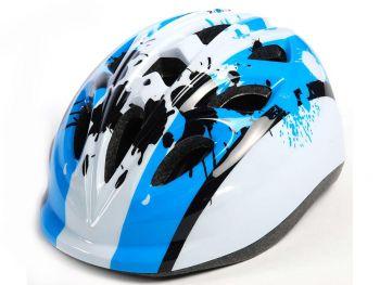 Otroška kolesarska čelada Blue White