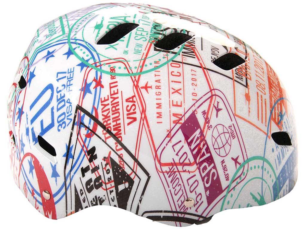 Otroška kolesarska čelada Travel the World