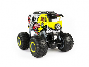 Big Wheel Crazy 1:16 yellow 2.4GHz