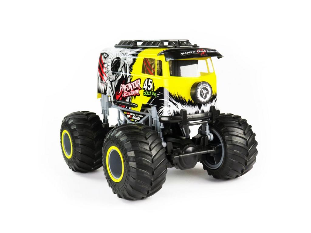 Big Wheel Crazy 1:16 yellow 2.4GHz