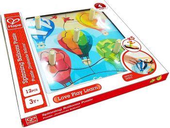 Hape Puzzle vrteči baloni E1623