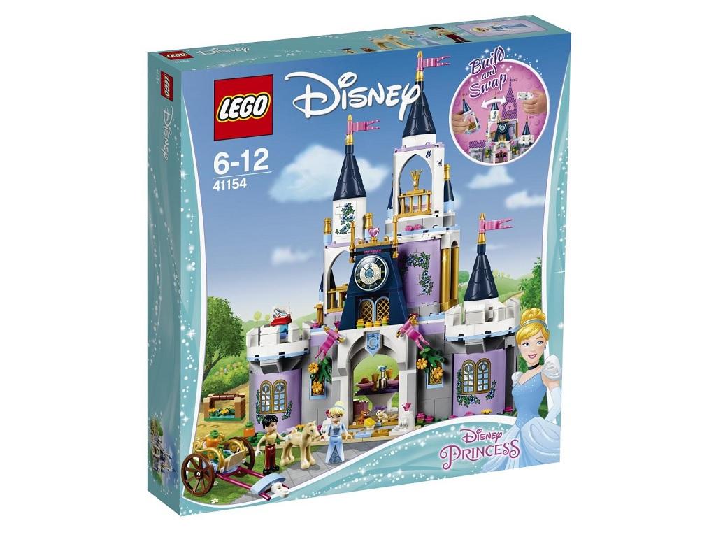 LEGO Disney Pepelkin sanjski grad 41154