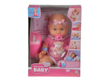 New Born Baby dojenček s kahlico