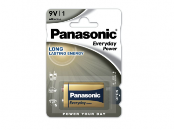 Baterija Panasonic 9V