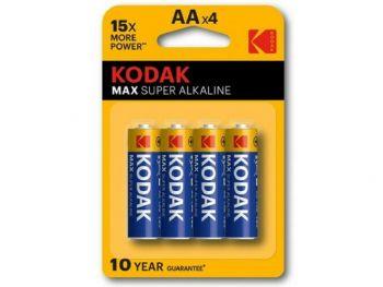 Baterije Kodak AA x 4. 1.5 V