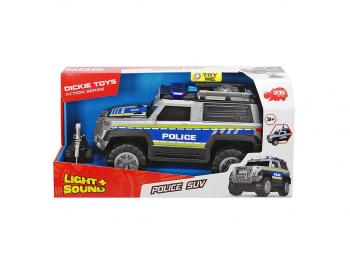 Dicke Policijsko vozilo SUV