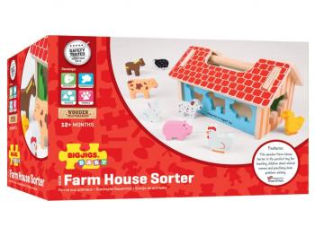 Igrača Vstavljamo živali v hišico