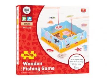 Lovljenje ribic z magnetom