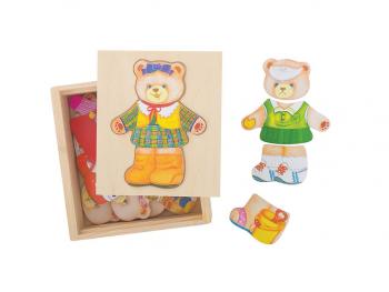 Oblecimo gospo medvedko
