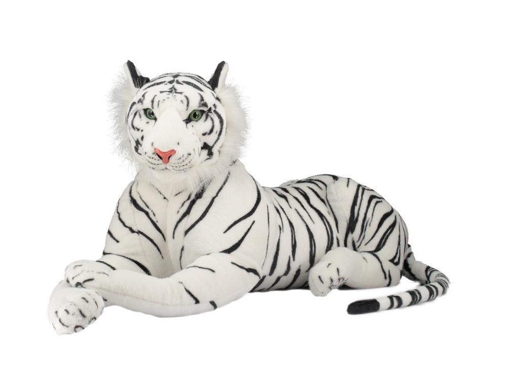Pliš beli tiger - 90cm