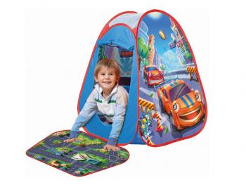 Pop up šotor z avtomobilčki eigrače