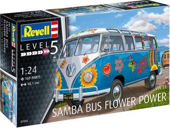 Revell maketa avtobusa VW T1 Samba Bus 07050