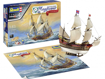 Revell maketa ladje Gift Set Mayflower 400th Anniversary 05684
