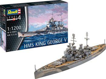Revell maketa ladje HMS King George V 05161
