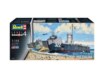 Revell maketa ladje US Navy Landing Ship Medium 05169