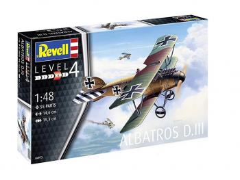 Revell maketa letala Albatros DIII 04973