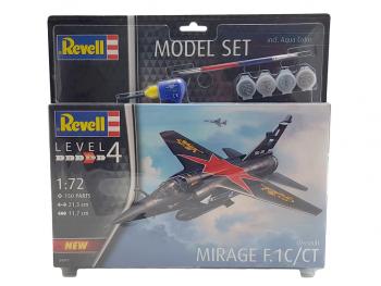 Revell maketa letala Model Set Mirage F.1C 64971
