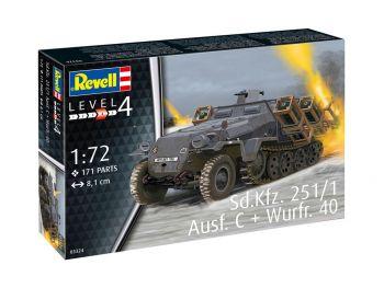 Revell maketa vozila Sd.Kfz.251/1 Ausf.C with Wurfr 40 03324