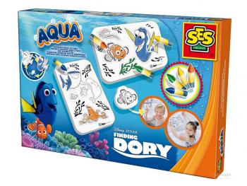 SES Aqua Finding Dory-barvanje v banji eigrače