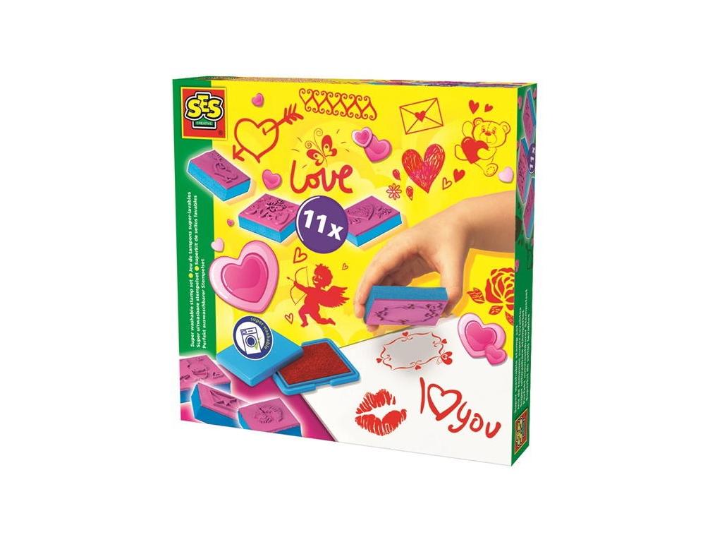SES Set štampiljk - Ljubezen eigrače