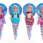 Punčka Sparkle Girlz Zimska princesa - velika