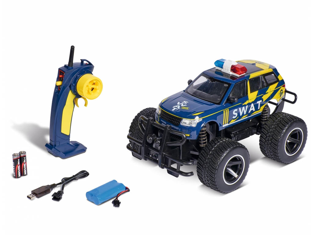 Avto na daljinca Policijski SWAT 2.4 GHz
