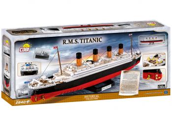 Cobi kocke za sestavljanje R.M.S. Titanic