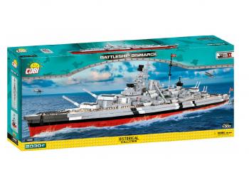 Coby kocke ladja Battleship Bismarck eigrače
