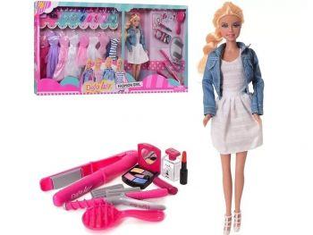 Defa Lucy punčka z oblekami 1