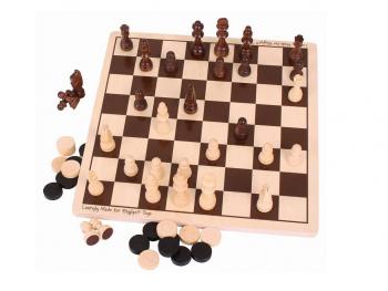Družabna igra šah in dama eigrače