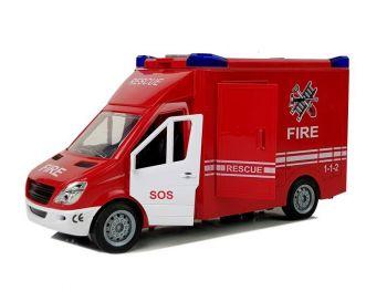 Gasilski avto reševalec na frikcijski pogon 7021