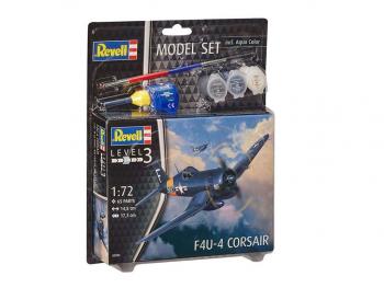 Model set F4U-4 corsair set eigrače