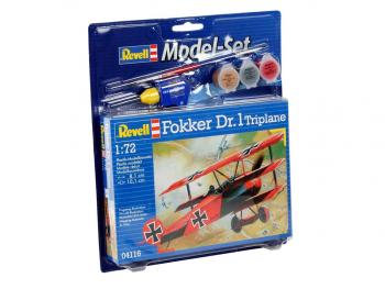 Model set Fokker DR. 1 Triplane eigrače