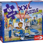 Puzzle za najmlajše XXL Noris Policija