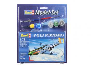 Revell Model set P-51D Mustang eigrače