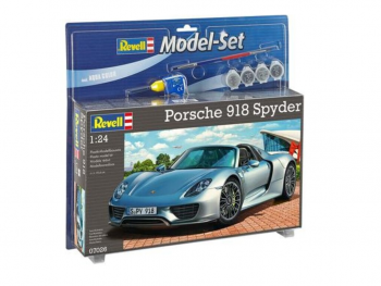 Revell Model set Porsche 918 Spyder eigrače